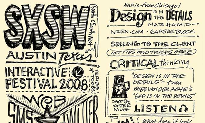 Sketches from SXSW